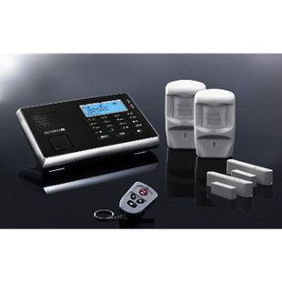 OLYMPIA Protect 9030 Premium Alarmanlagen Set mit 2 Fenster/Türkontakten und 2 Bewegungsmeldern - Bild 1
