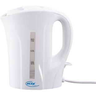 ELTA WK-1000 Wasserkocher, 1 l, 800-1000 W, Weiß - Bild 1