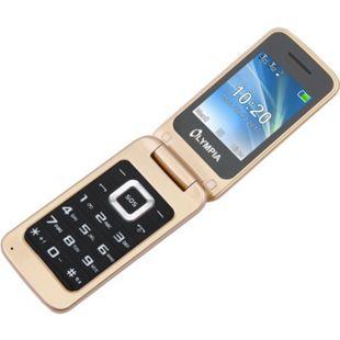OLYMPIA Luna Senioren Mobiltelefon Handy mit großen Tasten Gold - Bild 1