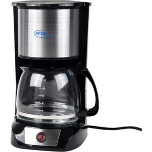 ELTA KME-1000.2 Kaffeemaschine, 1,5 l, 800 W, Schwarz - Bild 1