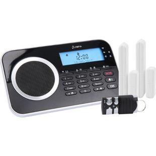 OLYMPIA Protect 9730 drahtlose GSM Alarmanlagen-Set, Schwarz - Bild 1