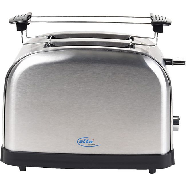 ELTA ETO-1000 Cool Touch Toaster, 1000 W, Edelstahl - Bild 1
