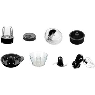 HKoenig ACMX18 Zubehör für MX18 Küchenmaschine, 8-teilig - Bild 1