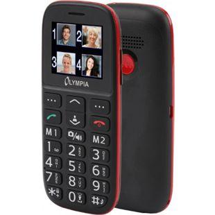 OLYMPIA Bella Senioren Mobiltelefon, Handy große Tasten, Bluetooth, Ladestation - Bild 1