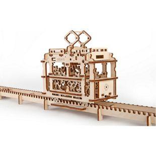 UGEARS Modellbausatz Straßenbahn - Bild 1