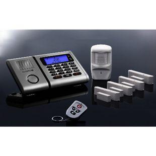 OLYMPIA Protect 6061 Drahtloses Alarmanlagen-Set mit 4 Tür-/Fensterkontakten und Bewegungsmelder - Bild 1