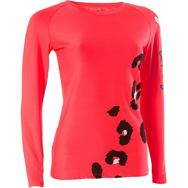 SAM Damen Fitness Shirt/s /rot - Bild 1
