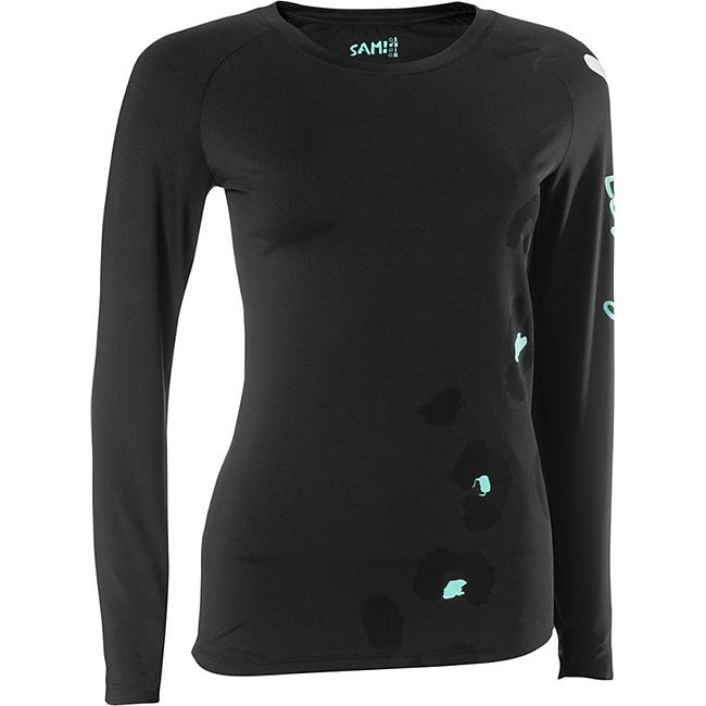 SAM Damen Fitness Shirt/xl /schwarz - Bild 1