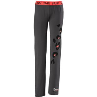 SAM Damen Jazzpants, zweifarbig/xl /grau leo - Bild 1