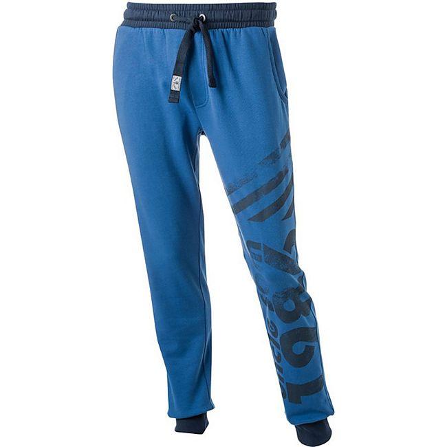 UNCLE SAM Herren Bodyhose US mit Bund/l /blau - Bild 1