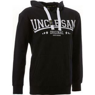 UNCLE SAM Herren Sweatshirt Hoody/l /black - Bild 1