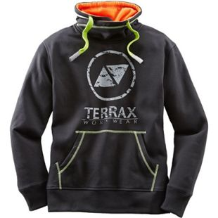 TERRAX WORKWEAR Herren Sweatshirt, M, Schwarz/Limette - Bild 1