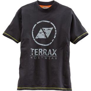 TERRAX WORWEAR Herren T-Shirt, M, Schwarz/Limette - Bild 1