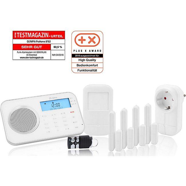Olympia Pro Home 8762 Funk Haus Alarmanlage mit WLAN/GSM und Smart Home Funktionen - Bild 1