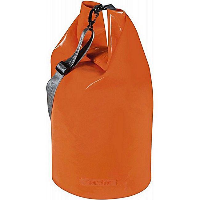 SPIRELLA Seesack mit Schnappverschluss, Multifunktionstasche, 50 l, Orange - Bild 1