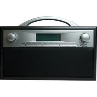 ELTA DAB-7000.1 DAB+ Radio, Holzgehäuse, Schwarz/ Grau - Bild 1