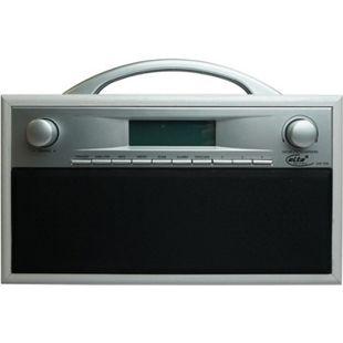 ELTA DAB-7000.1 Internetradio, Holzgehäuse, Silber/ Grau - Bild 1
