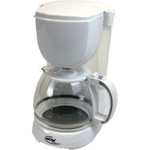 ELTA KM-1000.2 wß Kaffeemaschine mit Permanentfilter, 1,25 l, 750 W, Weiss - Bild 1