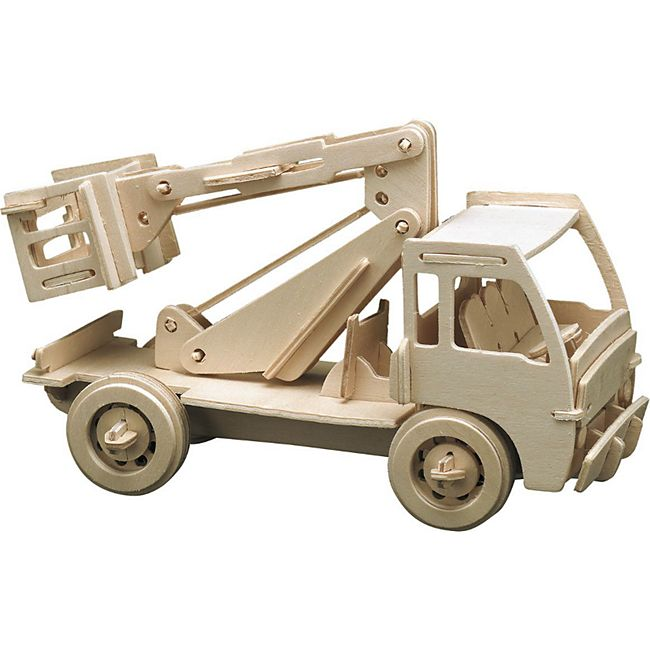 PEBARO Holzbausatz Hubwagen - Bild 1