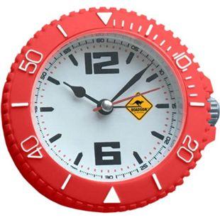 ROADSIGN Newcastle Tischuhr mit Weckfunktion, Rot - Bild 1