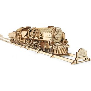 UGEARS Modellbausatz V-Express Lokomotive - Bild 1