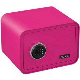 OLYMPIA Go Safe Tresor 100 mit Zahlencode, Pink - Bild 1