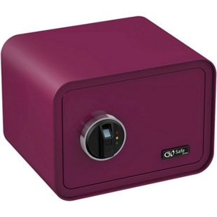OLYMPIA Go Safe Tresor 100 mit Fingerprint, Beere - Bild 1