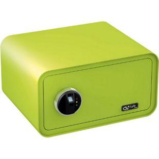 OLYMPIA Go Safe Tresor 200 mit Fingerprint, Apfelgrün - Bild 1