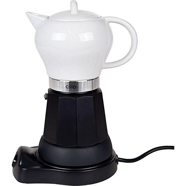 CILIO Madeira Espressokocher aus Porzellan 6 Tassen, elektronisch - Bild 1