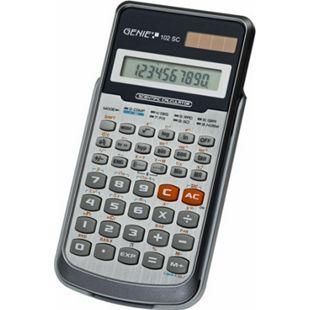 GENIE 102SC Wissenschaftlicher Solar Taschenrechner Schulrechner Schul Rechner - Bild 1