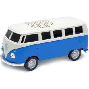 Autodrive VW Bus T1 Bulli Bluetooth Lautsprecher USB MP3 Radio Modell Box - Bild 1