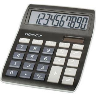 GENIE 840BK Solar Tischrechner Rechenmaschine Rechner Bürorechner Taschenrechner - Bild 1