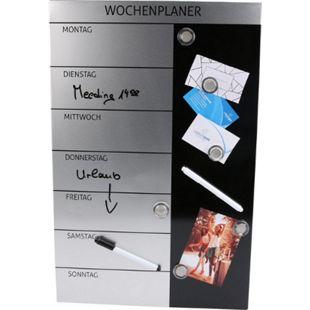 GENIE Wochenplaner Magnettafel Terminplaner Blackboard Wandtafel Pinnwand Magnet - Bild 1