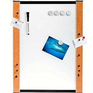 GENIE Whiteboard Kork Magnettafel Memoboard Wandtafel Pinnwand Schreibtafel NEU! - Bild 1