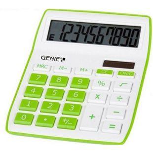 GENIE 840G Solar Tischrechner Rechenmaschine Rechner Bürorechner Taschenrechner - Bild 1