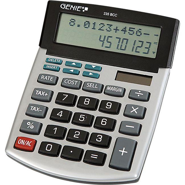 GENIE 235BCC Taschenrechner Rechenmaschine Büro Rechner Bürorechner Tischrechner - Bild 1