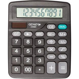 GENIE 220MD Solar Tischrechner Rechenmaschine Rechner Bürorechner Taschenrechner - Bild 1
