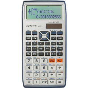 GENIE 92 SC S Wissenschaftlicher Solar Taschenrechner Schulrechner  580 Funktionen - Bild 1