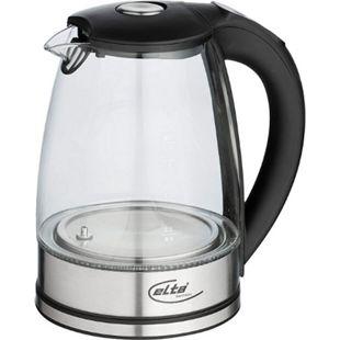 ELTA Wasserkocher Glas mit Temperaturauswahl, LED-Beleuchtung 1,7 l, 2200 W - Bild 1