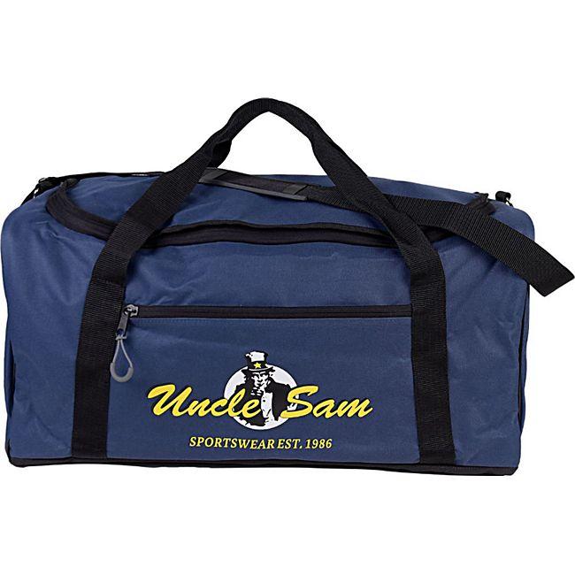 UNCLE SAM Sporttasche, Navy - Bild 1
