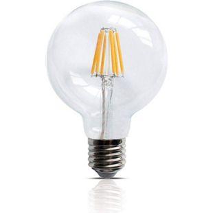 LED Filament Leuchte E27 6W 600 Lumen  Lampe Glühfaden Innenbereich - Bild 1