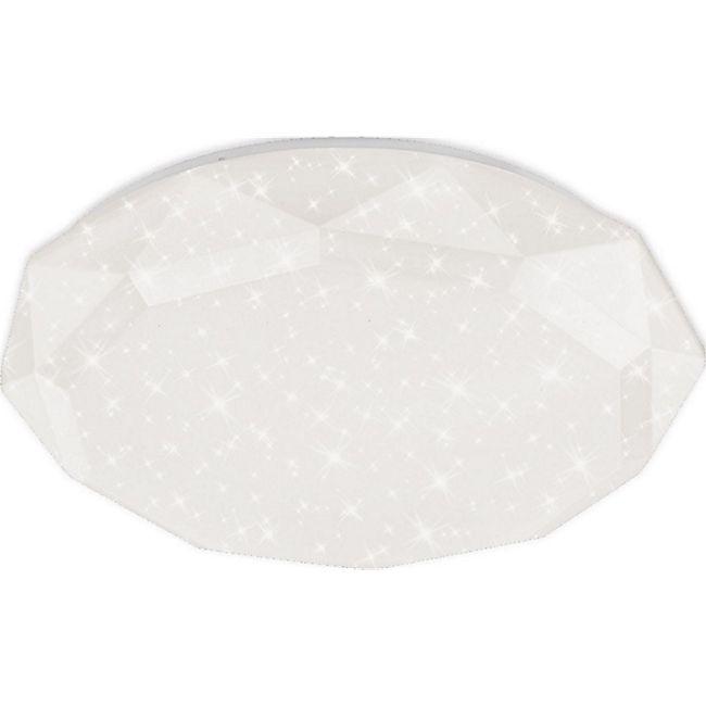 HÖLSCHER LEUCHTEN LED Deckenleuchte Diamond, Sterneneffekt, Acryl, 18 W, Ø 35 cm - Bild 1