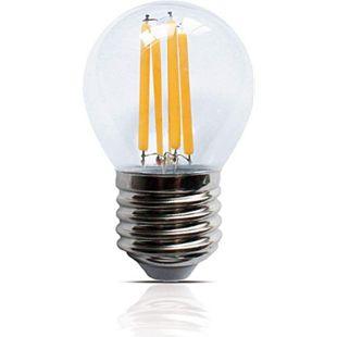 LED Filament Leuchte Kugel E27 4W 400 Lumen  Lampe Glühfaden Innenbereich - Bild 1