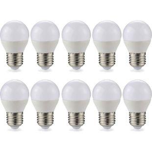 10 Stück E27 LED  Birne Leuchte  5 Watt 400 Lumen warmweiß - Bild 1