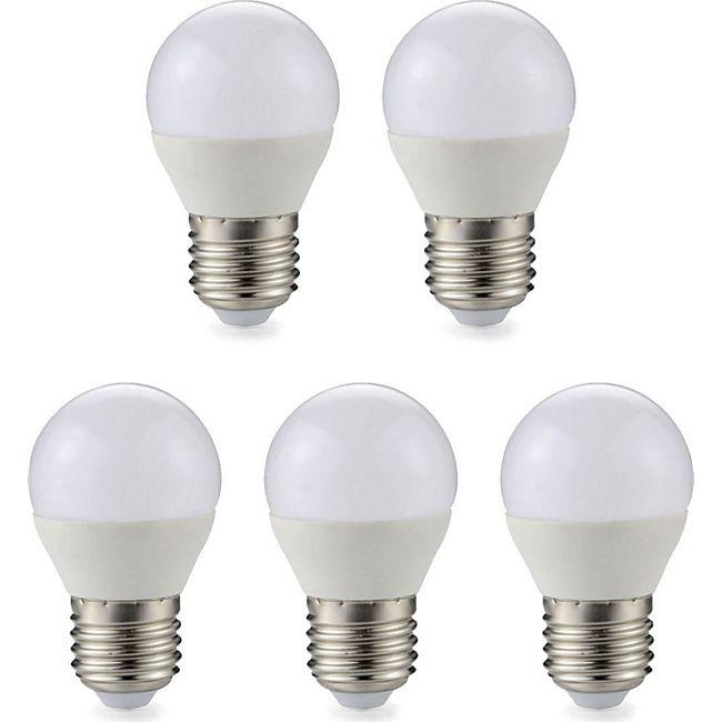 5 Stück  E27 LED Kugel Leuchtmittel Glühbirne 3 Watt 240 Lumen warmweiß - Bild 1