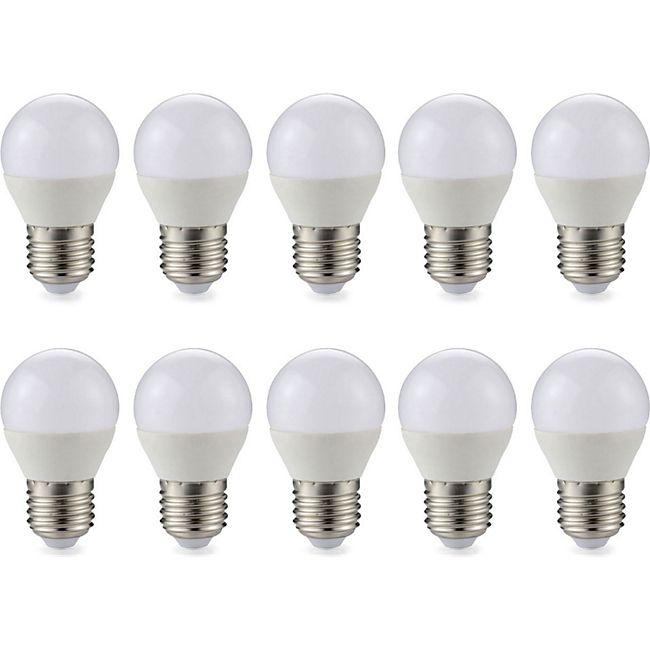 10 Stück  E27 LED Kugel Leuchtmittel Glühbirne 3 Watt 240 Lumen warmweiß - Bild 1