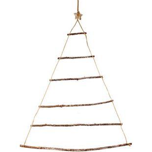 LEX Deko Wandbaum aus Holz ca. 90x70 cm mit 40 LED - Bild 1