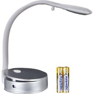 MELLERT LED Leselampe, flexibler Leuchtarmzum Klemm und Hinstellen - Bild 1