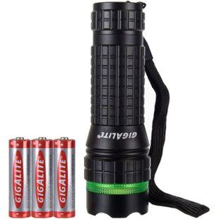 GIGALITE LED Taschenlampe Batterielampe Reichweite bis 25 m - Bild 1