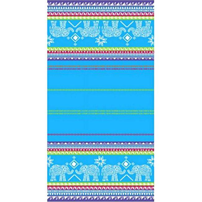 LEX Saunatuch Handtuch, ST1005, Blau - Bild 1